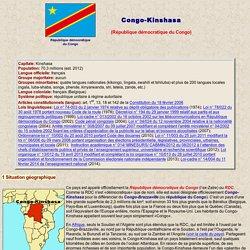 République démocratique du Congo (ex-Zaïre)