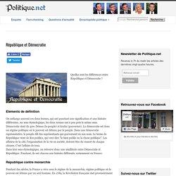 République et Démocratie