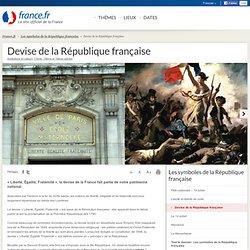 Devise de la République française: informations et cartes