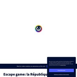 Escape game: la République romaine par martinethomsin sur Genially