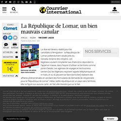 La République de Lomar, un bien mauvais canular