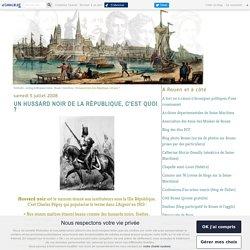 Un hussard noir de la République, c'est quoi ? - Politicobs - Le blog de Monsieur Julien - Rouen