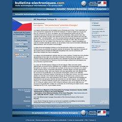 """2009/06/23> BE République Tchèque10> Les algues : """"des producteurs"""" potentiels d'énergie !"""