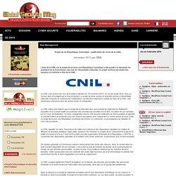 Projet de loi République numérique : publication de l'avis de la CNIL