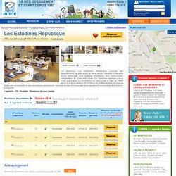 Les Estudines République - Paris 11ème - 75 - Résidences Services Gestion