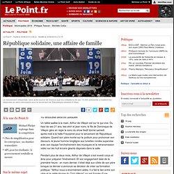 COULISSES : République solidaire, une affaire de famille, actual