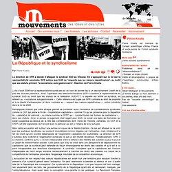 La République et le syndicalisme