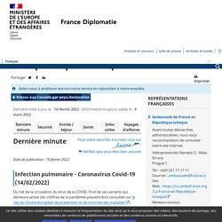 France diplomatie : la République tchèque
