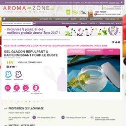 Recette : Gel glaçon repulpant & raffermissant pour le buste - Aroma-Zone