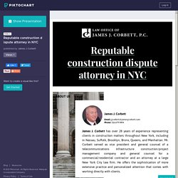 Reputable construction dispute attorney in NYC