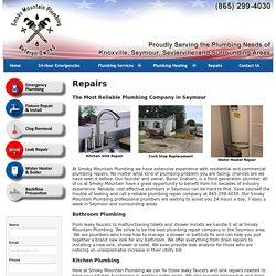 Call Emergency plumbers in Seymour TN