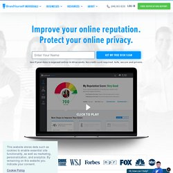 Brand-Yourself.com - Personal Branding & Online Reputation Manag