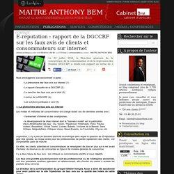 E-réputation : rapport de la dgccrf sur les faux avis de clients et consommateurs sur internet