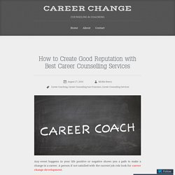 Career Counseling Services in San Francisco for A Career Change