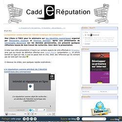 L'e-réputation comme attribut de l'identité numérique des entreprises
