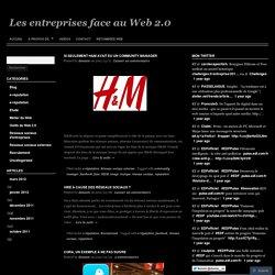 Les entreprises face au Web 2.0