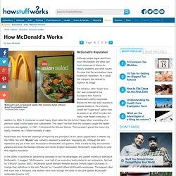 McDonald's Reputation