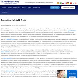 Reputation – Iglesia Ni Cristo