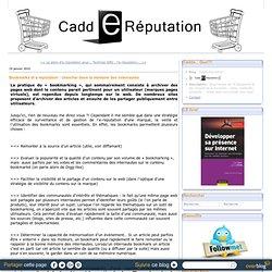 Bookmarks et e-réputation : chercher dans la mémoire des internautes