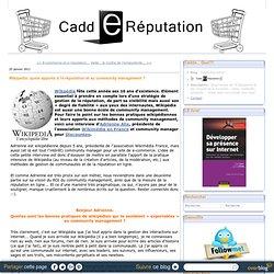 Wikipédia: quels apports à l'e-réputation et au community management