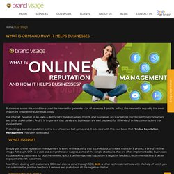 What Is Online Reputation Management And How It Helps Businesses