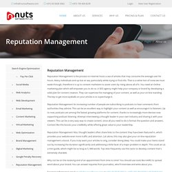 Online Reputation Management in Dubai