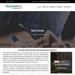 Online Reputation Management Services Africa, Reputation management services company