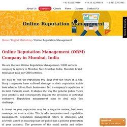 Best Online Reputation Management Agency in Mumbai