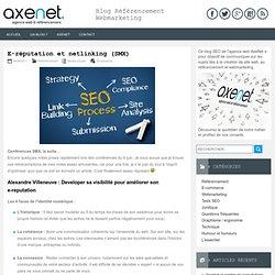 E-réputation et netlinking (SMX)