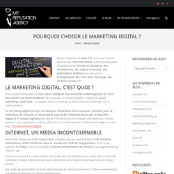 Pourquoi choisir le marketing digital ?