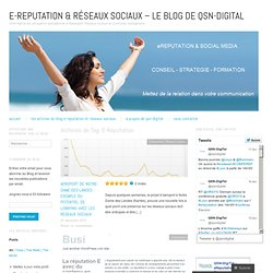 E-Reputation « QSN-DigiTal : le blog e-reputation