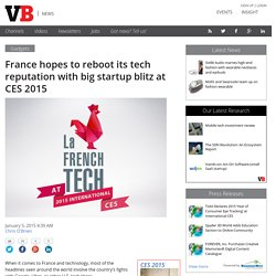 Big startup blitz at CES 2015