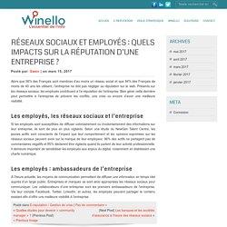 Réseaux sociaux et employés : quels impacts sur la réputation d'une entreprise ? - E-réputation et veille stratégique - blog Winello