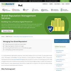 Brand Reputation Management Services India