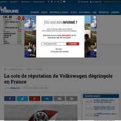 La cote de réputation de Volkswagen dégringole en France