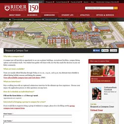Request a Campus Tour