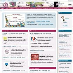 Site d'Anglais de l'Academie de Paris