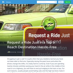 Request a Ride Just in a Tap & Reach Destination Hassle-Free (with image) · ridegreen