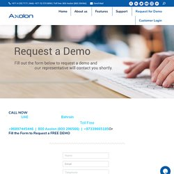 Request a Demo for ERP