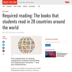 Required reading: the books that students read in 28 countries around the world