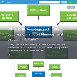 What Skills Are Required To Be Successful in Hotel Management Sector In Kolkata? (with image) · Hotscal