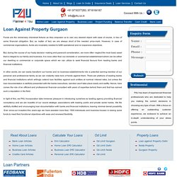 Loan against Gurgaon Property