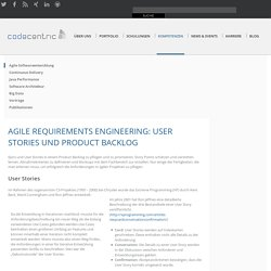 Agile Requirements Engineering - codecentric AG