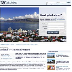 Iceland's Visa Requirements