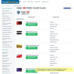HSBC Credit Card - Promos, Requirements, Philippines