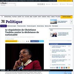 Le réquisitoire de Christiane Taubira contre la déchéance de nationalité