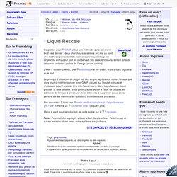 Liquid Rescale - Créer & Éditer