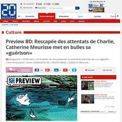 Preview BD: Rescapée des attentats de Charlie, Catherine Meurisse met en bulles sa «guérison»