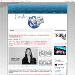Fawkes News: Une rescapée d'un réseau pédocriminel de l'élite témoigne : silence habituel des médias (partie 1)