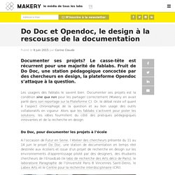 Do Doc et Opendoc, le design à la rescousse de la documentation